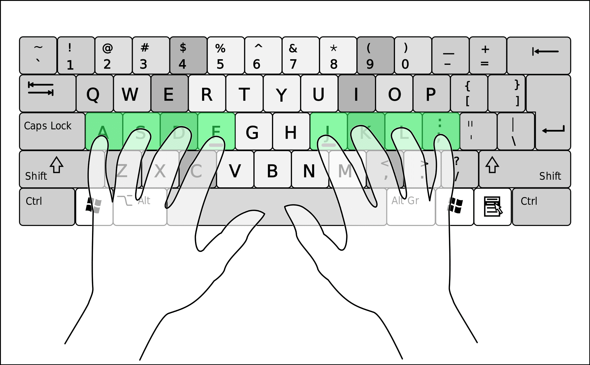 Keyboard the probate pro view larger image qwerty keyboard biocorpaavc Images