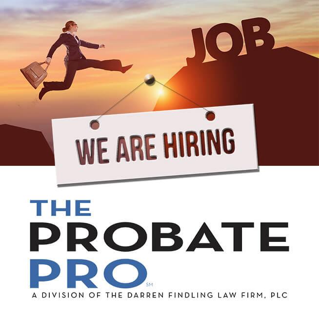 probate pro law office attorney firm michigan ohio trust administration estate elder law paralegal job career hiring