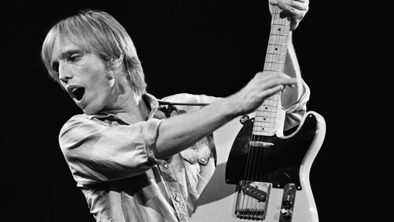 Late rock star Tom Petty, rocking out on stage. Tom Petty's estate is currently entangled in probate drama.