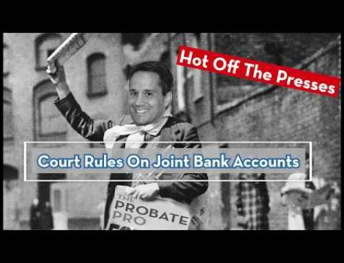 Court of Appeals Rules On Joint Bank Account