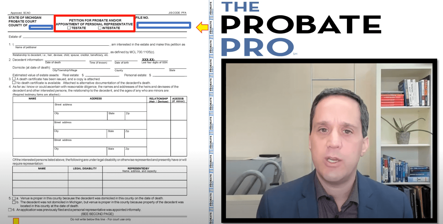 Petition for Probate and Appointment of Personal Representative