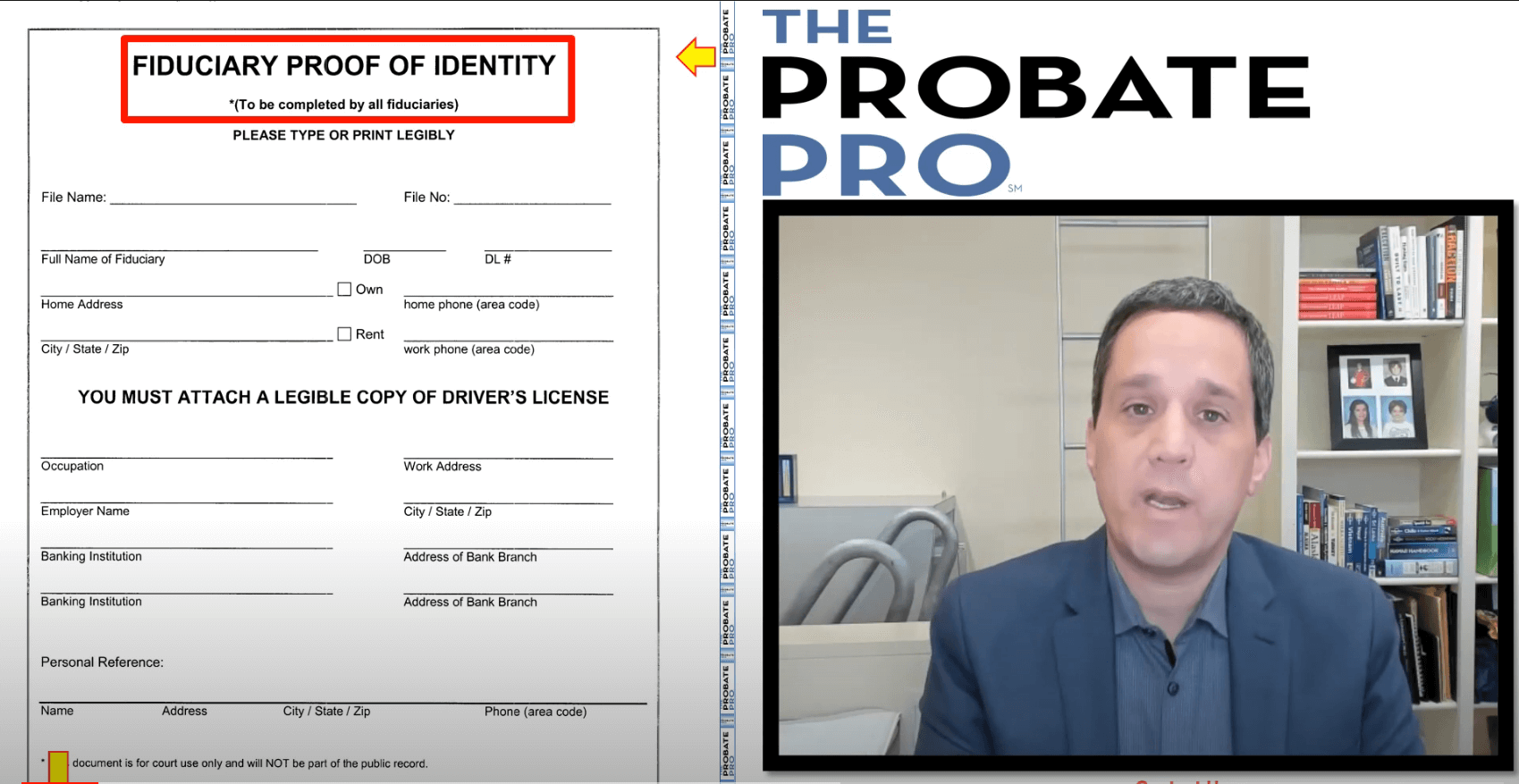 Fiduciary Proof of Identity